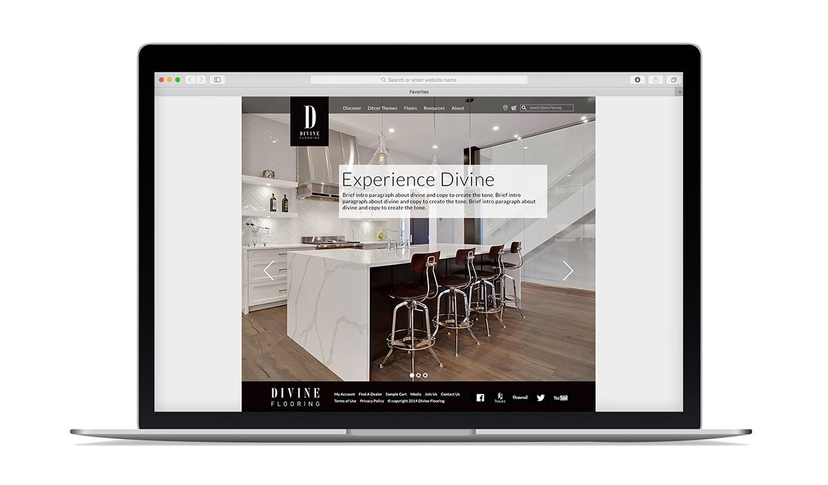 Divine Flooring Website Copp Marketing Design